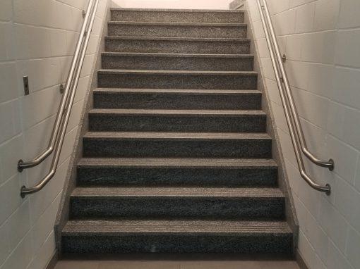 Remplacement des escaliers intérieurs dans plus de 15 écoles